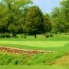 A view of a green at Cedar Crest Golf Club